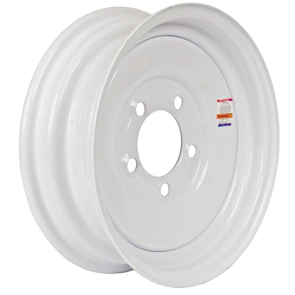 12x4 5-Hole 12 in. Steel Trailer Wheel/Rim