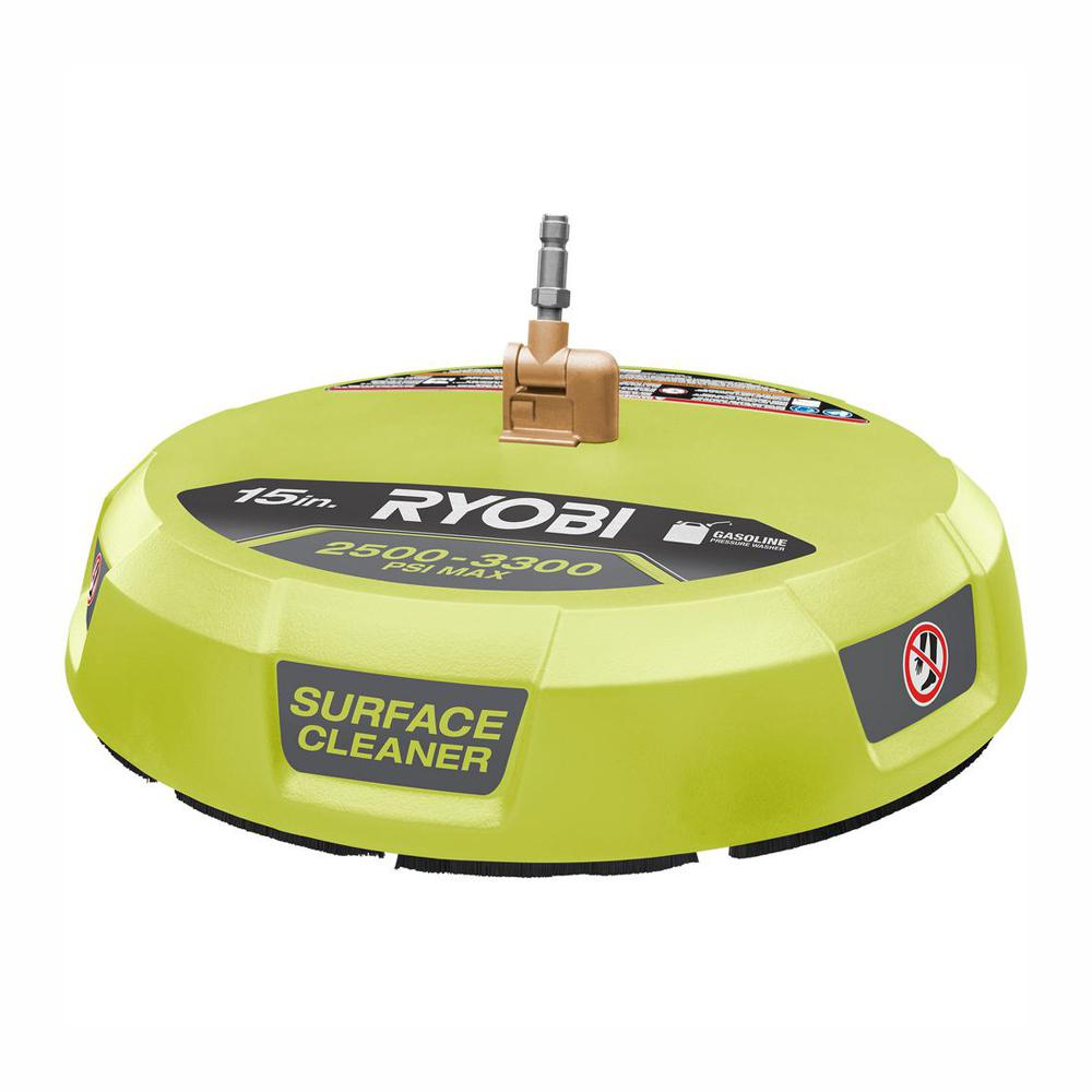 RYOBI RYOBI 15 in. 3300 PSI Surface Cleaner for Gas Pressure Washer