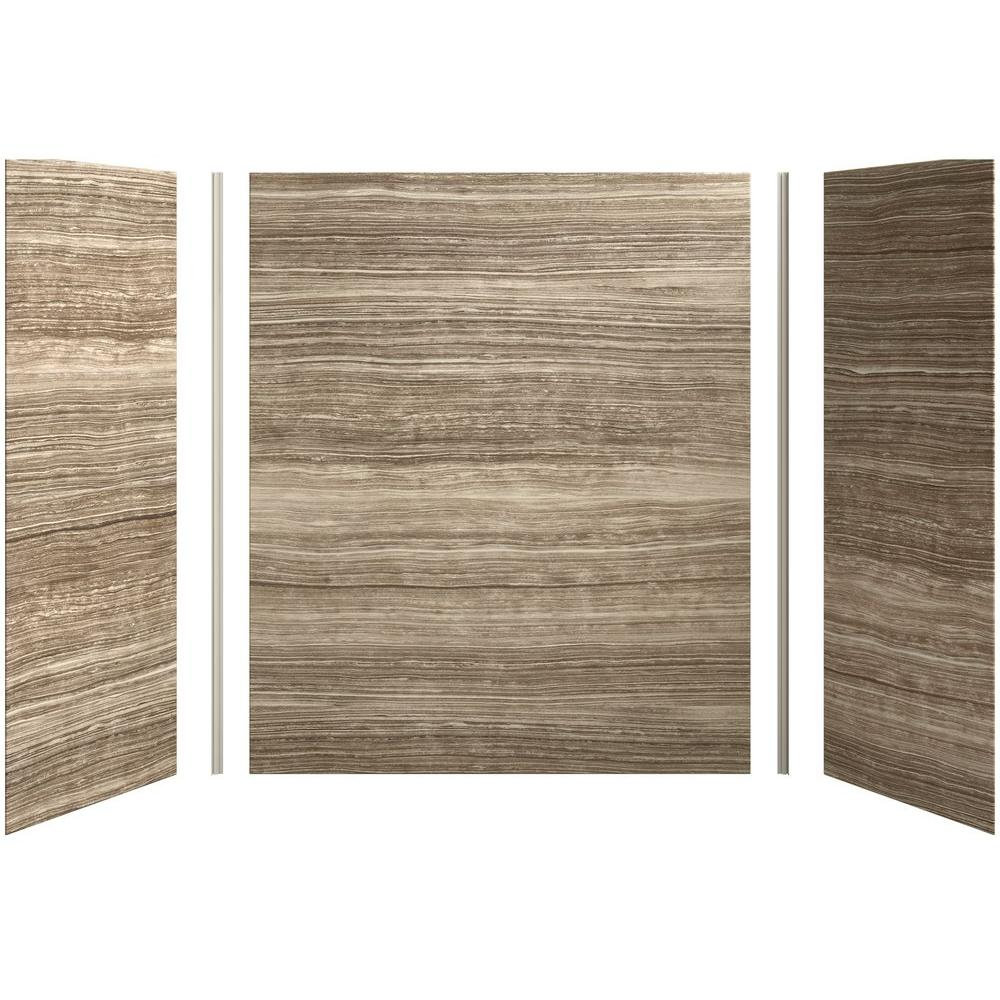 Bath Shower Wall Panels kohler choreograph 60in. x 32 in. x 72 in. 5-piece bath/shower wall