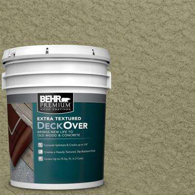 5 gal. #SC-151 Sage Extra Textured Wood and Concrete Coating