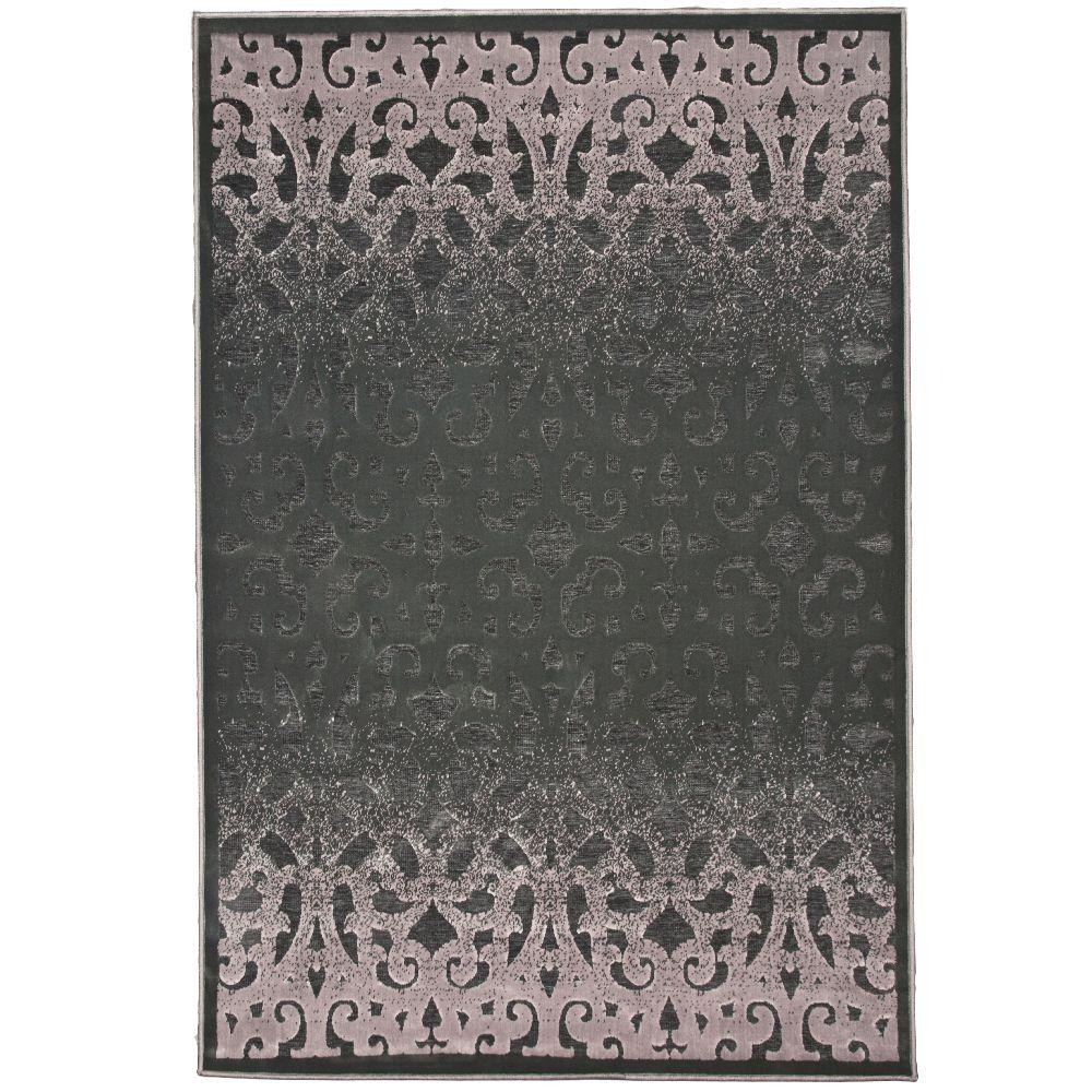 null Welded Gainsboro Grey 5 ft. 1 in. x 7 ft. 5 in. Area Rug-DISCONTINUED