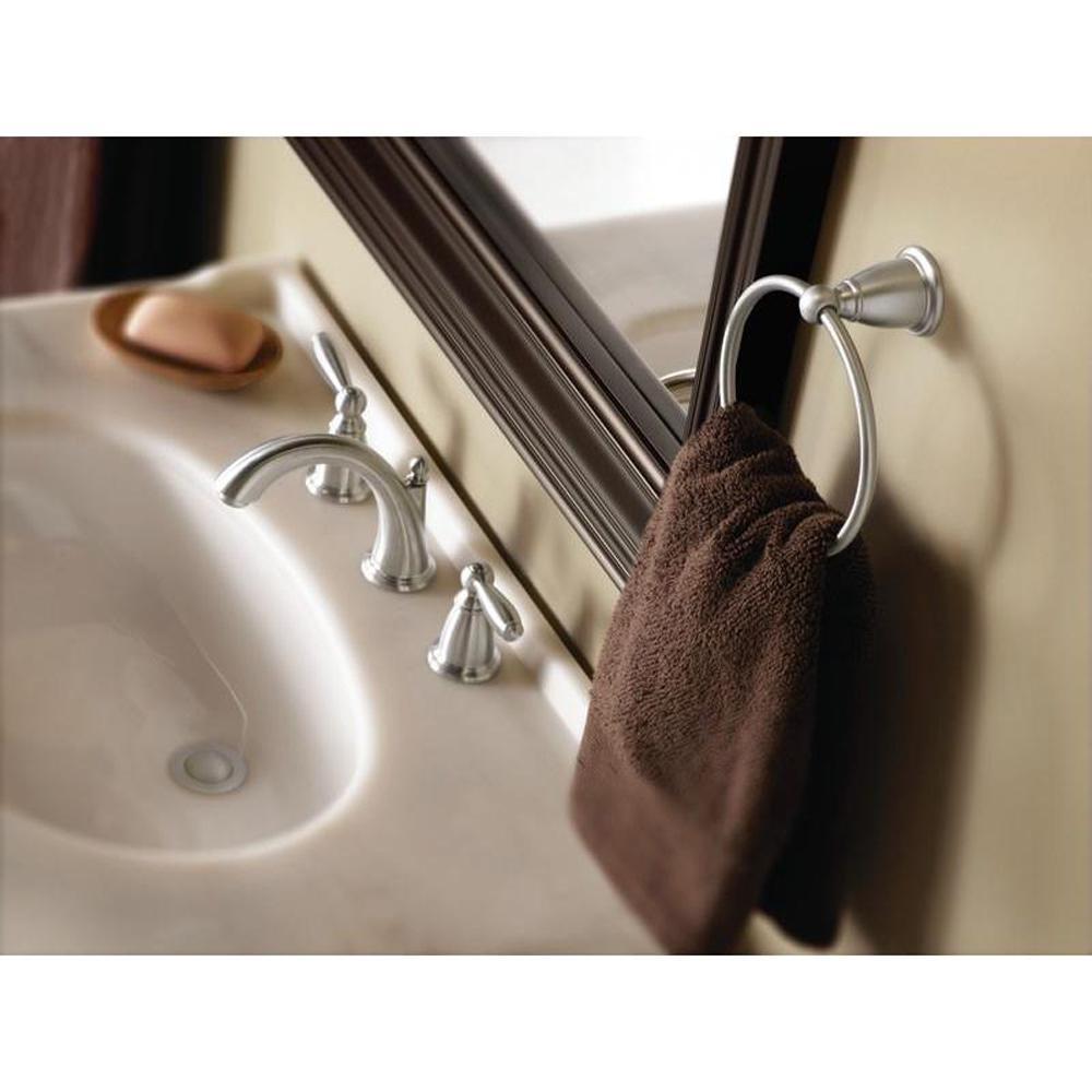 Brantford Towel Ring in Brushed Nickel