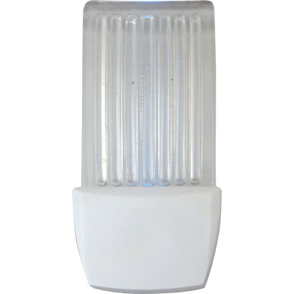 GE Always-On 0.3-Watt LED Waterfall Night Light - Blue