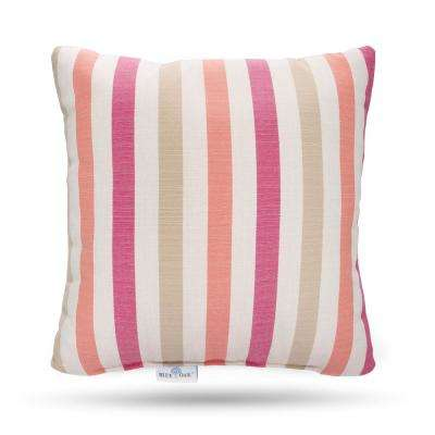 Outdura Notion Reef Square Outdoor Throw Pillow (2-Pack)