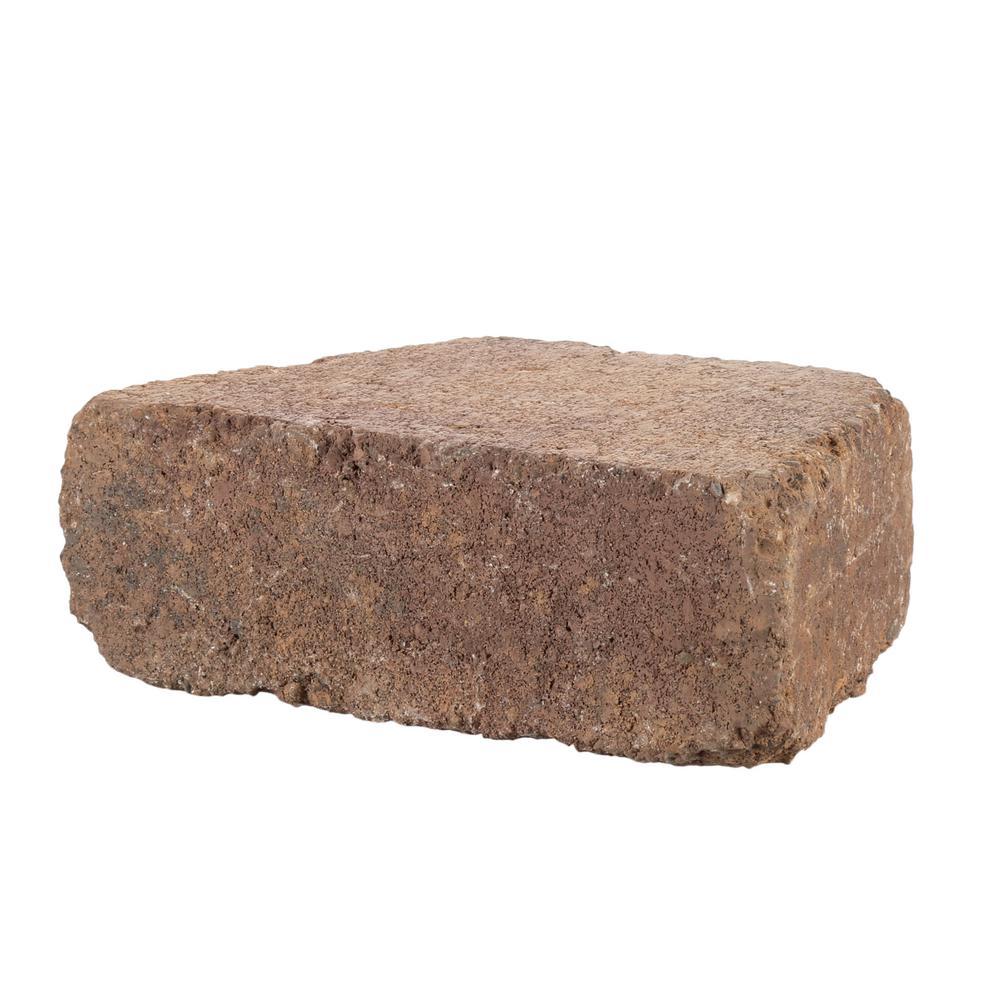 Pavestone RumbleStone Trap 3.5 in. x 10.25 in. x 7 in. Sierra Blend Concrete Garden Wall Block