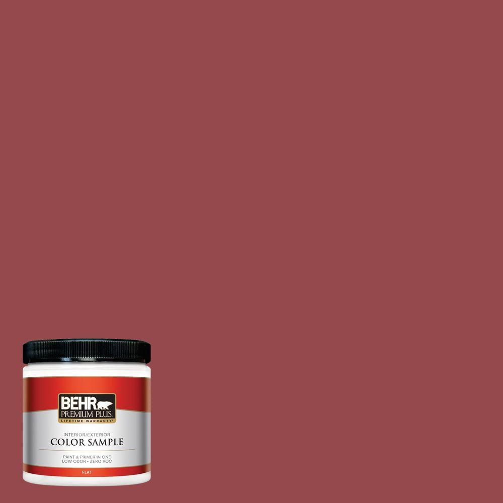 8 oz. #M140-6 Circus Red Interior/Exterior Paint Sample