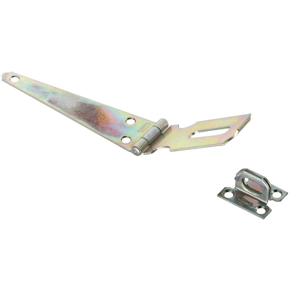 National Hardware 6 in. Zinc Plated Hinge Hasp-DISCONTINUED