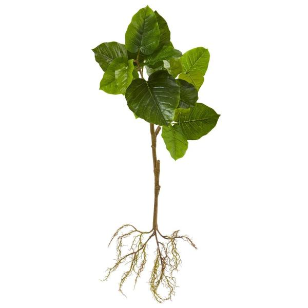 39 in. Foliage Artificial Branch with Intricate Roots System (Set of 2)