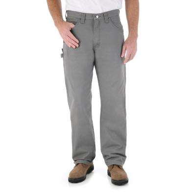 Men's Size 40 in. x 32 in. Slate Carpenter Pant
