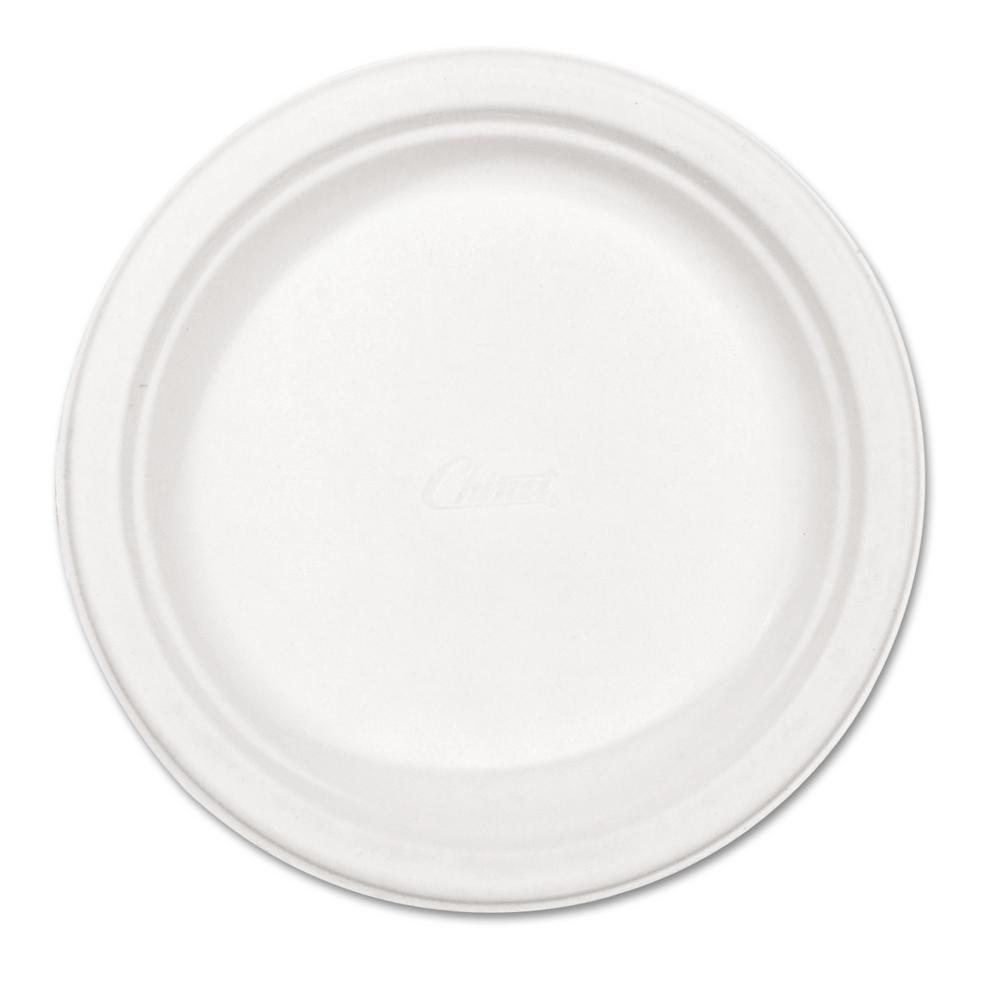 Chinet Classic Paper Plates 8-3/4 in. White 500  sc 1 st  Home Depot & Chinet Classic Paper Plates 8-3/4 in. White 500 Per Case-HUH21227 ...