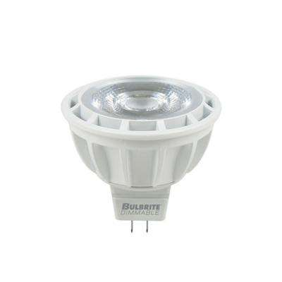 50W Equivalent Soft White Light MR16 Dimmable LED Narrow Flood Enclosed Rated Light Bulb