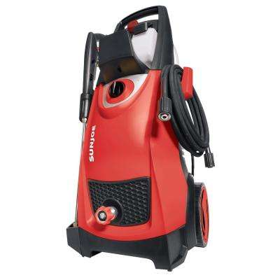 2030 MAX PSI 1.76 GPM 14.5 Amp Electric Pressure Washer in Red
