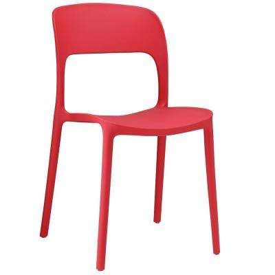 Hop Red Dining Side Chair