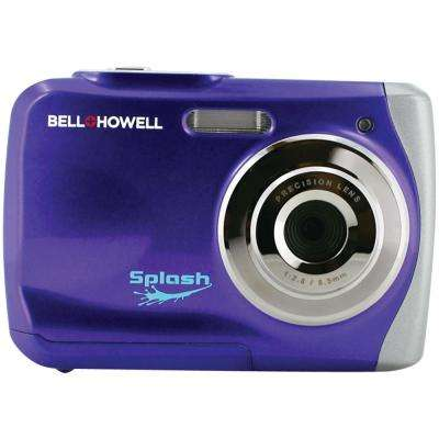 12.0 Megapixel Splash Waterproof Digital Camera in Purple