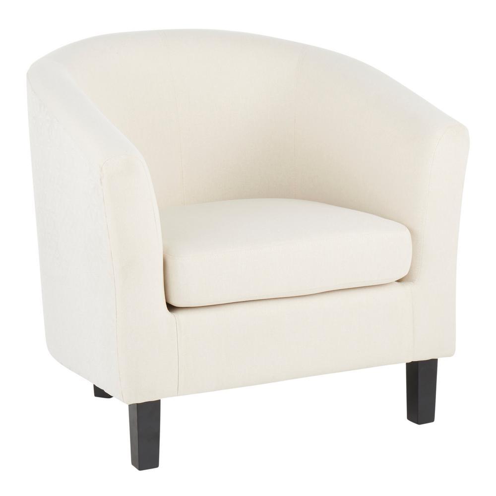 Claudia Cream Barrel Chair