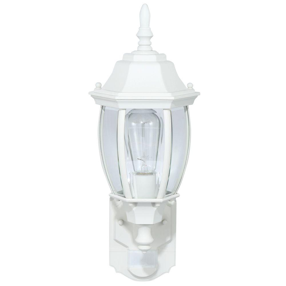 Outdoor Exterior Porch Wall Light Fixture Motion Sensor