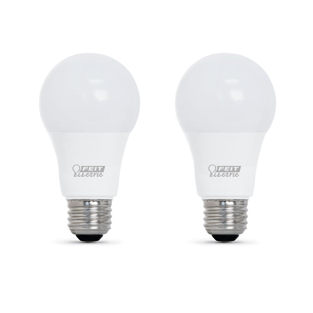 100-Watt Equivalent A21 Dimmable CEC Title 24 Compliant LED ENERGY STAR 90+ CRI Light Bulb, Soft White (2-Pack)