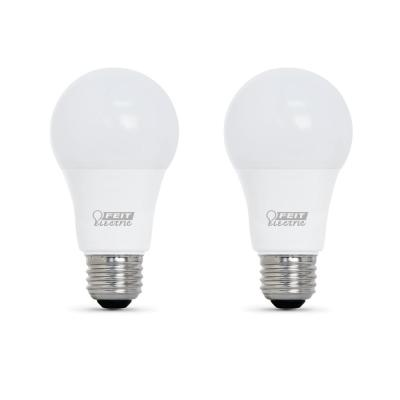 100-Watt Equivalent A21 Dimmable CEC Title 24 Compliant LED ENERGY STAR 90+ CRI Light Bulb, Soft White (2-Pack)
