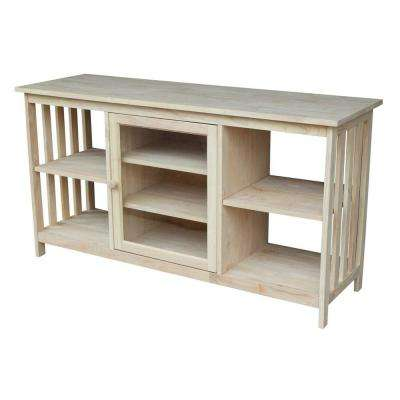 Lovely Unfinished Entertainment Center