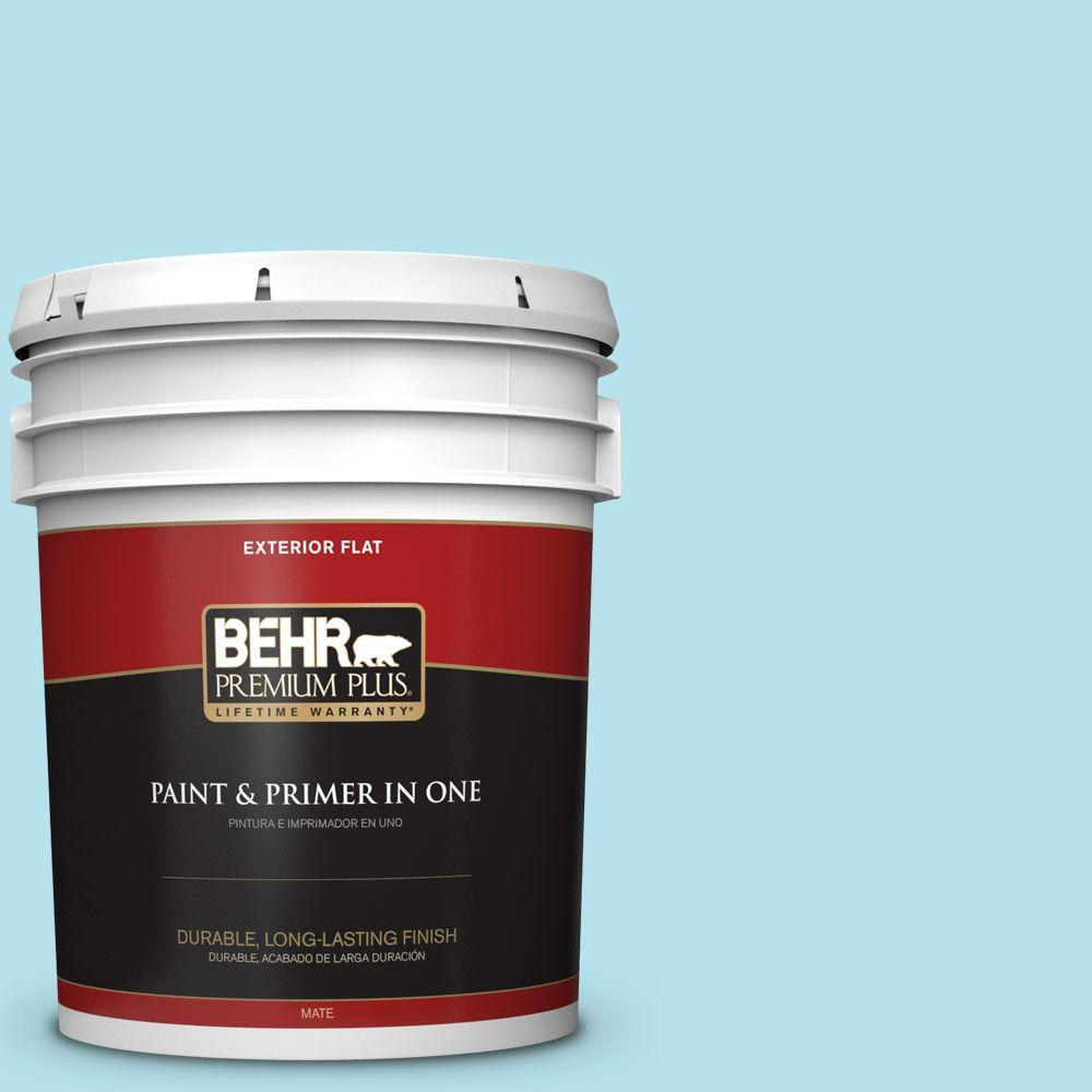 5-gal. #510A-3 Fresh Water Flat Exterior Paint