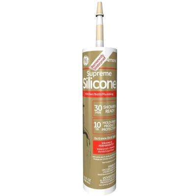 Supreme 10.1 oz. Almond Kitchen and Bath Caulk