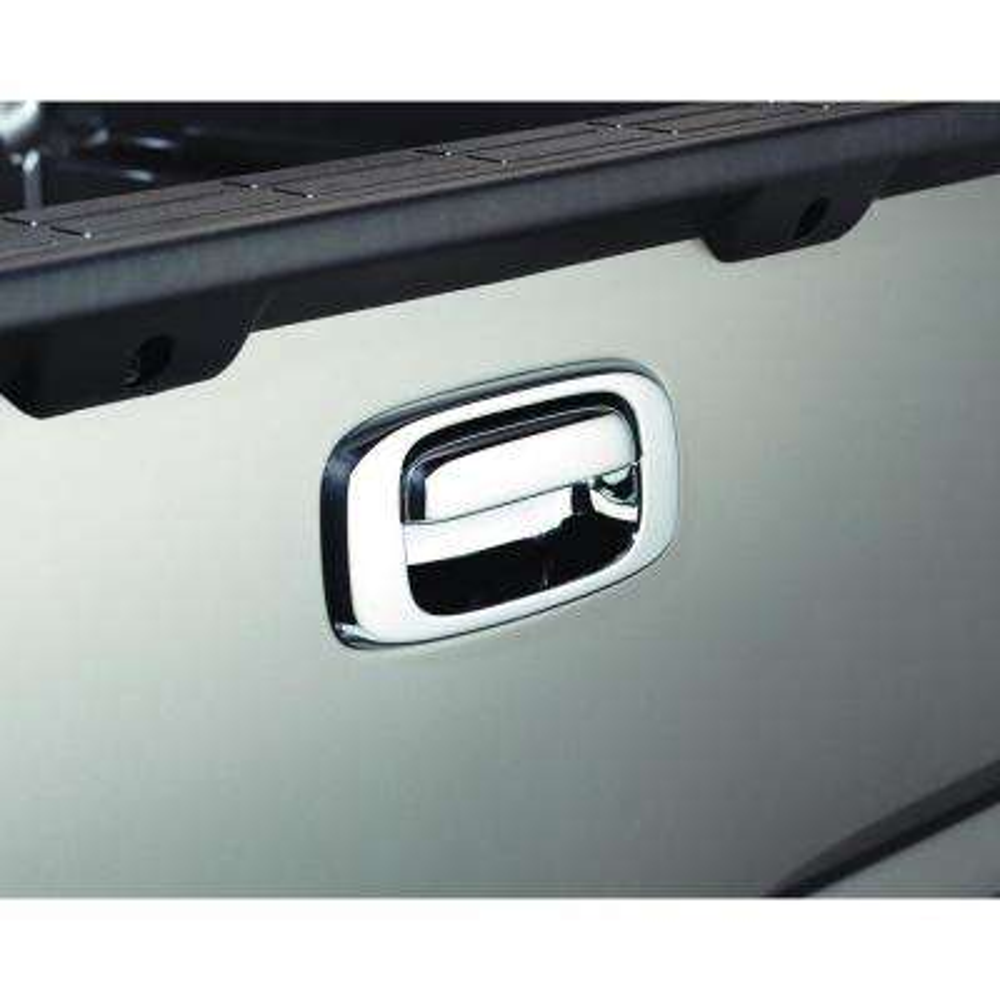 Chrome Tailgate Handle Cover(TM) - w/o Keyhole