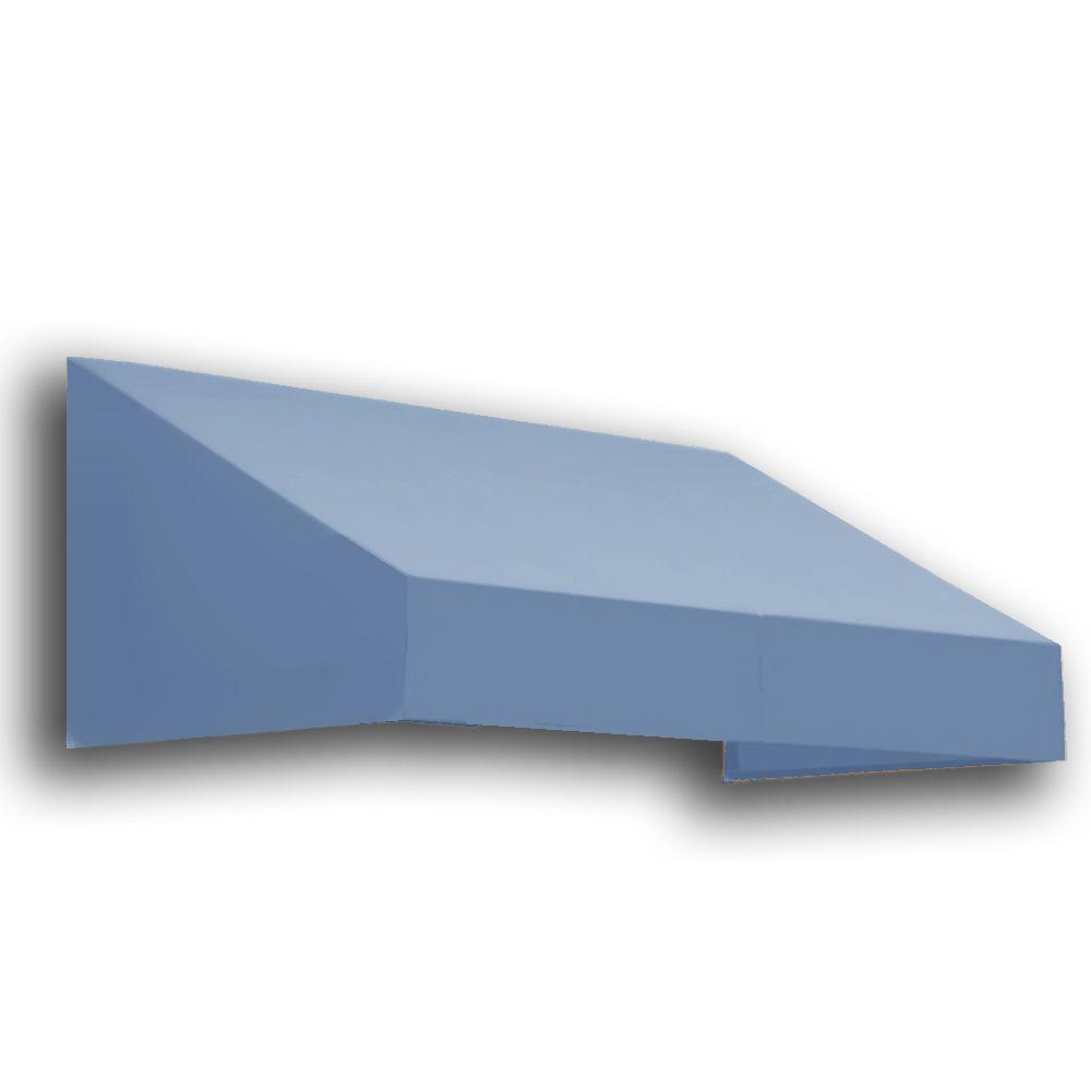 AWNTECH 16 ft. New Yorker Window/Entry Awning (24 in. H x 42 in. D) in Dusty Blue