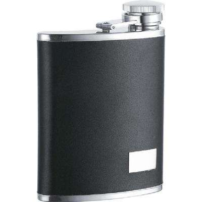 Zen Synthetic Leather Stainless Steel 7 oz. Wide Mouth Flask