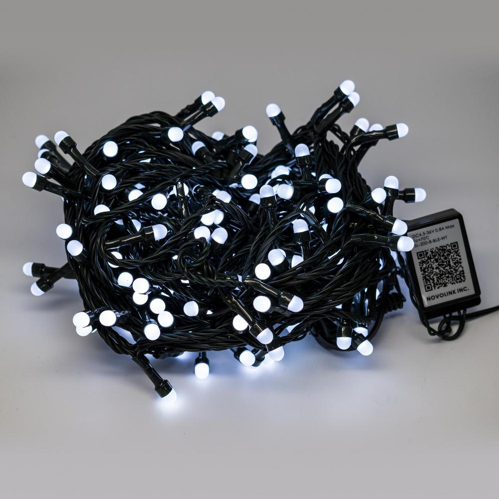 Novolink 200 Light 8 Mm Mini Globe Cool White LED Lights