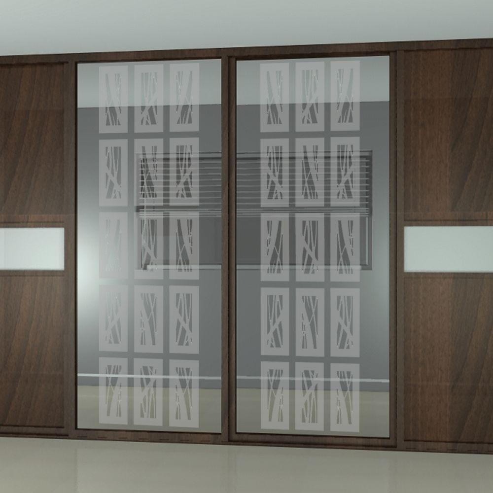 ETCHED Fx 14 in. x 50 in. Rococo Block Decorative Premium...
