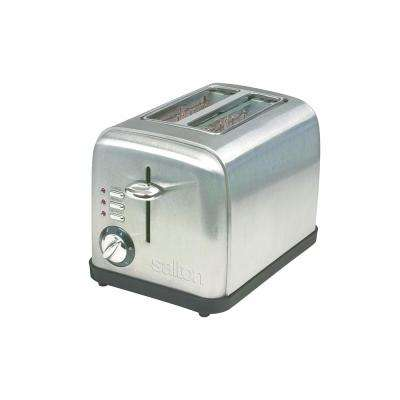 Electronic 2-Slice Stainless Steel Toaster