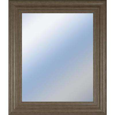 "22 in. x 26 in. ""Decorative Framed Wall Mirror"" by Classy Art Framed Printed Wall Art"