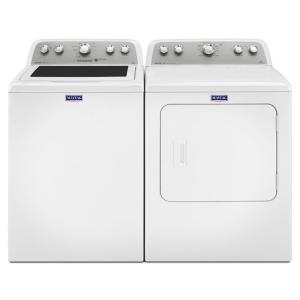Maytag Bravos 43 cu ft HighEfficiency Top Load Washer in White