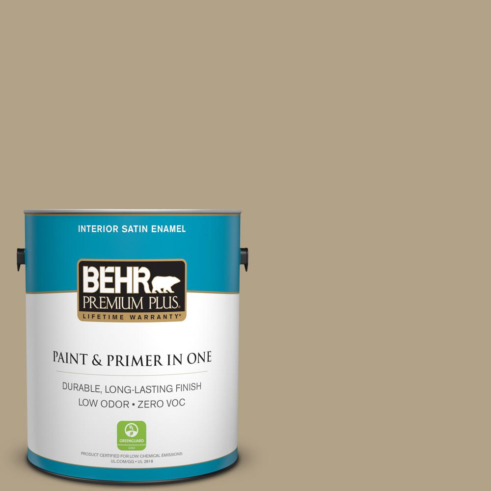 Home Decorators Collection 1-gal. #HDC-NT-12 Curly Willow Zero VOC Satin Enamel