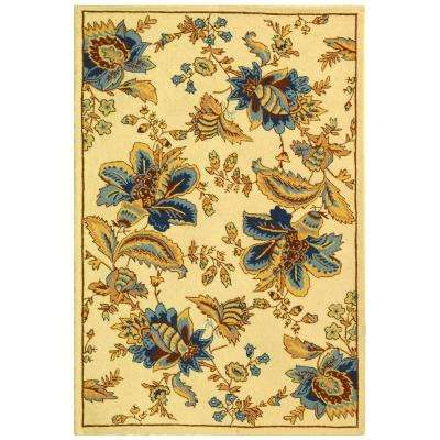 Chelsea Ivory 5 ft. 3 in. x 8 ft. 3 in. Area Rug