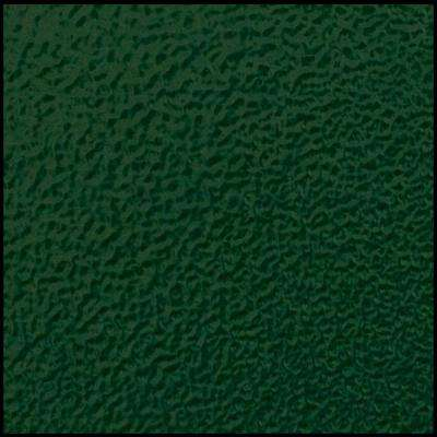 Forest Green Powder-Coat Painted Aluminum Security Door Color Sample