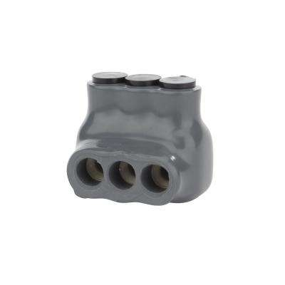 6-14 AWG and 6-14 AWG Bagged Insulated Connector, Grey