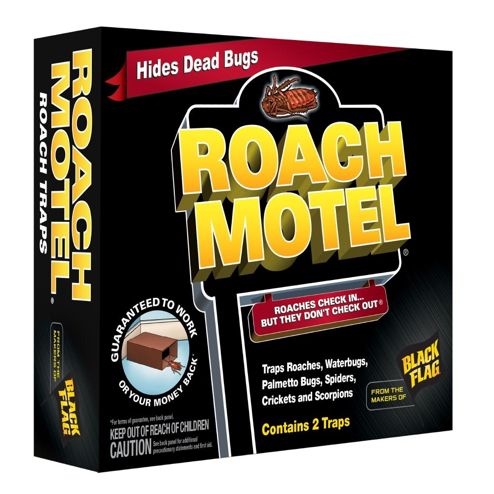 Black Flag Roach Motel 2 ct Glue Traps