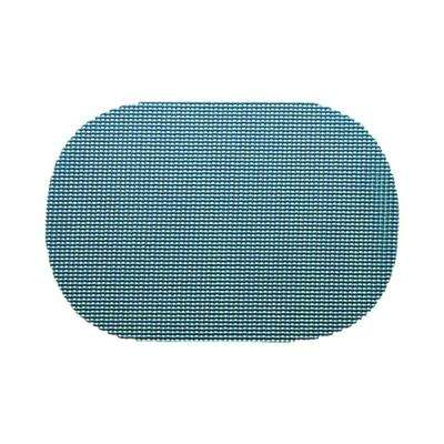 Niagara Blue Fishnet Oval Placemat (Set of 12)
