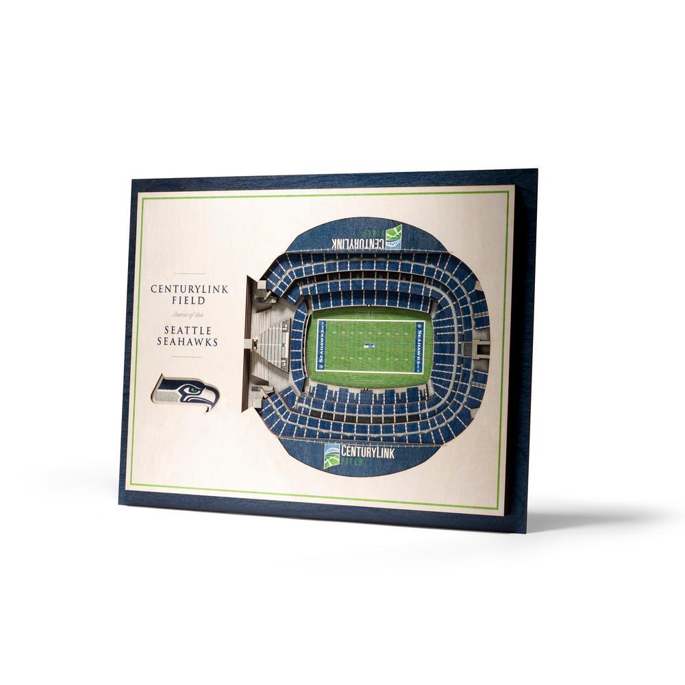 Youthefan Nfl Seattle Seahawks 5 Layer Stadiumviews