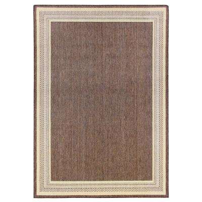 5 X 7 Brown Outdoor Rugs Rugs The Home Depot