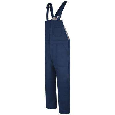 EXCEL FR ComforTouch Men's Small Navy Deluxe Insulated Bib Overall