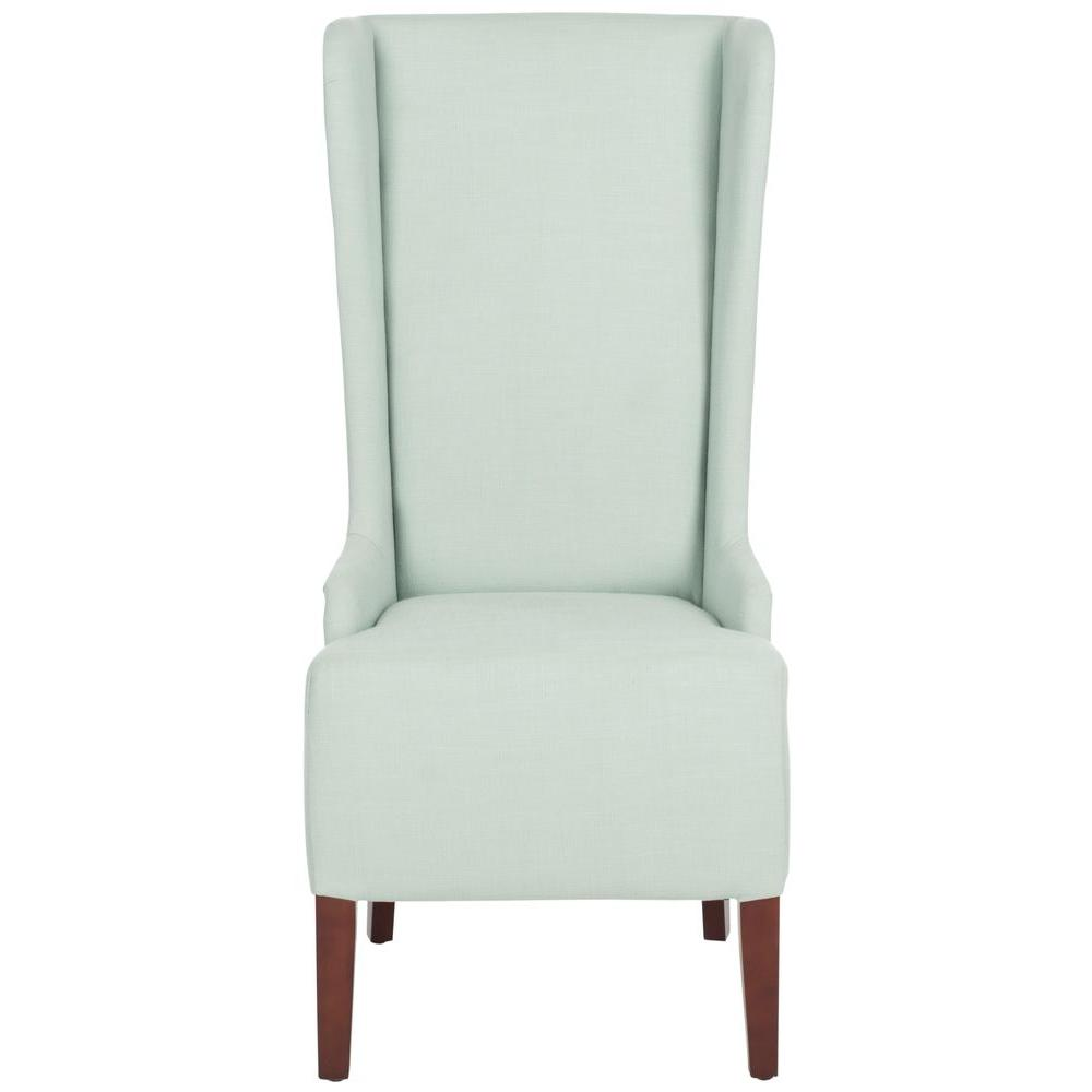 Safavieh Bacall Seafoam Green Cotton Blend Dining Chair ...