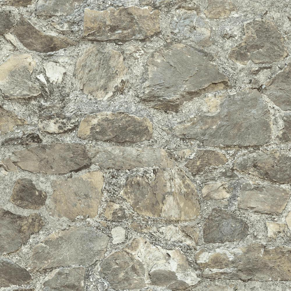 RoomMates 28.18 sq. ft. Stone Peel and Stick Wall Decor ...