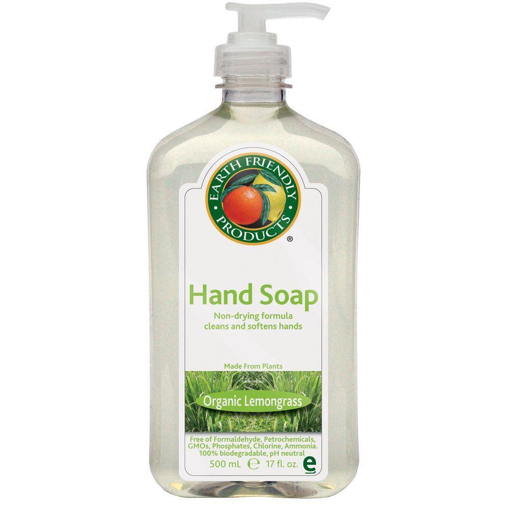 Earth Friendly Products 17 Oz Pump Bottle Lemongrass