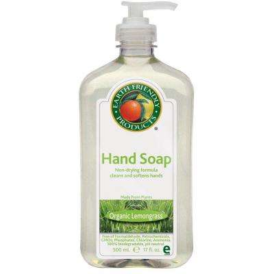 17 oz. Pump Bottle Lemongrass Scented Hand Soap