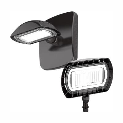 100-Watt Equivalent Integrated Outdoor LED Flood Light with Wall Pack Mount, 1500 Lumens, Outdoor Security Lighting