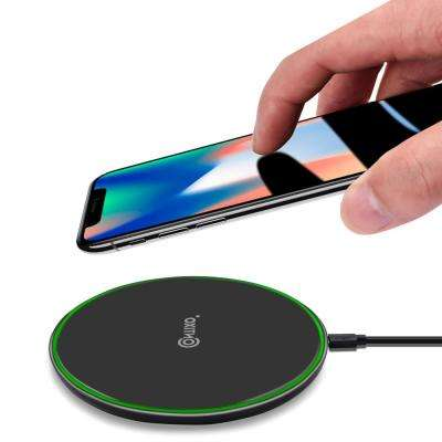 W2 Wireless Charging Charger Pad : Ultra-Thin Slim Design for Qi Compatible  Smartphones iPhone Samsung Galaxy