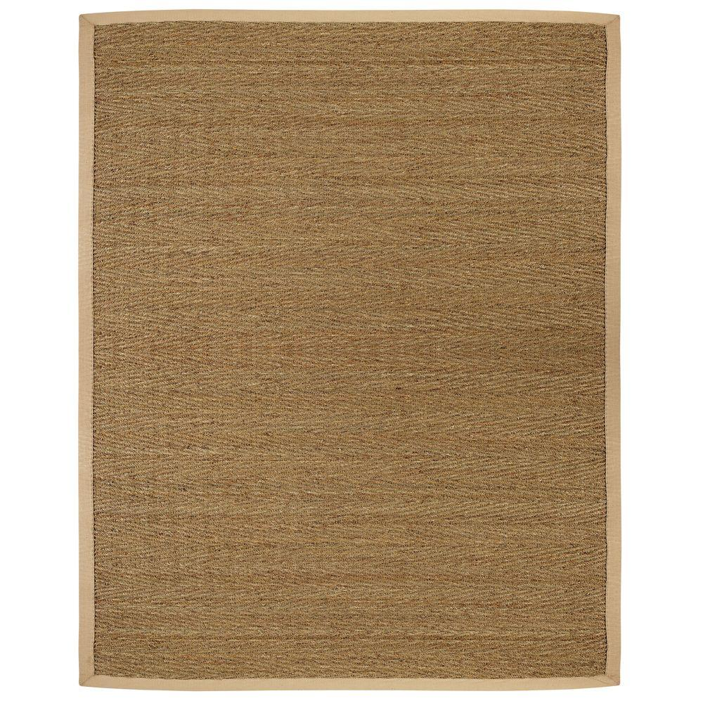 Anji Mountain Saddleback Tan 5 Ft X 8 Ft Area Rug Amb0117 0058