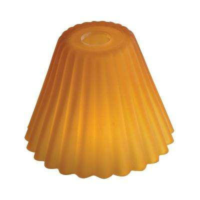 Amber Pleat Head